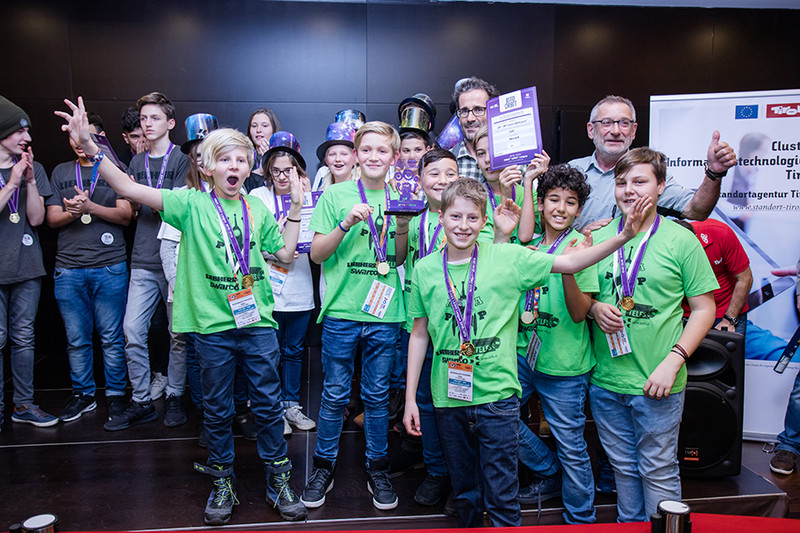 first lego league 2018 Sieger1